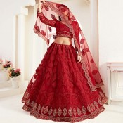 Bridal Wear Lehenga Choli (46)